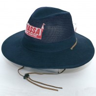 Collapsible Cotton Twill & Soft Mesh Hat