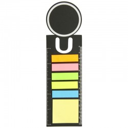 Bookmark Ruler with Sticky Notes