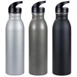 Matte Stainless Steel Sipper Bottle