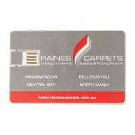 Acrylic Credit Card Flash Drive