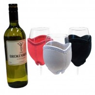 Wine glass cooler