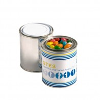 Paint Tin Filled with Jelly Beans 250G (Mixed Colours or Corporate Colours)