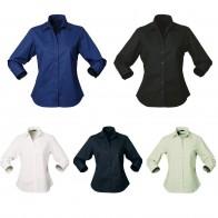 Ladies' Stratagem Shirt (3/4 Sleeve)