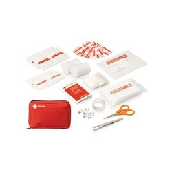30pc First Aid Kit - Carry pouch w/front pocket