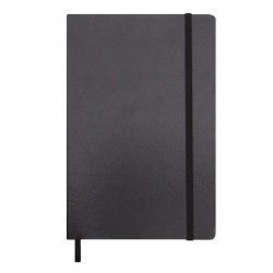 City A4 Notebook with Elastic Closure