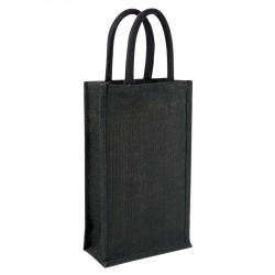 Jute Wine Bag - Double