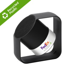 Kobra Wireless speaker - Recycled ABS & Aluminium - Silver