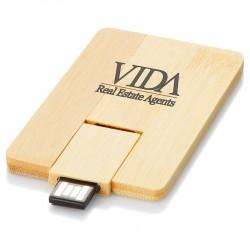 Bamboo Credit Card USB