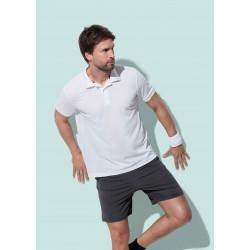 Mens Active Piqué Polo