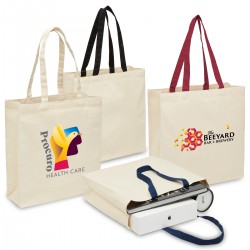 Heavy Duty Canvas Tote with Gusset