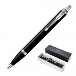 Metal Pen Ballpoint Parker IM - Lacquer Black CT