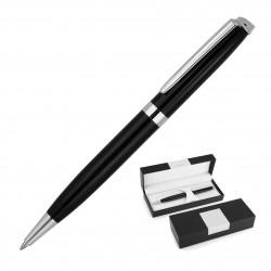 Metal Pen Ballpoint Derofe France Black