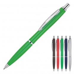 Plastic Pen Ballpoint Solid Colours Yonna