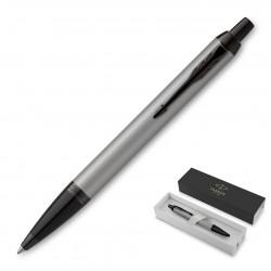 Metal Pen Ballpoint Parker IM - Achromatic Matte Grey BT