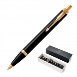 Metal Pen Ballpoint Parker IM - Lacquer Black GT