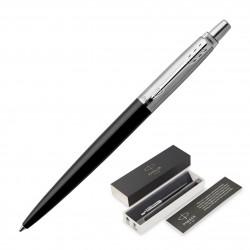Metal Pen Ballpoint Parker Jotter - Bond Street Black CT