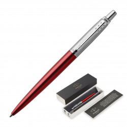Metal Pen Ballpoint Parker Jotter - Kensington Red CT
