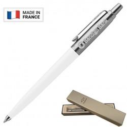 Metal Pen Ballpoint Parker Jotter Originals White