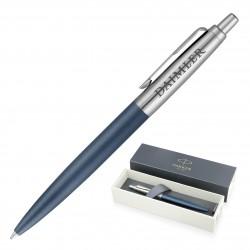 Metal Pen Ballpoint Parker Jotter XL - Matte Blue CT