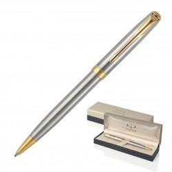 Metal Pen Ballpoint Parker Sonnet - Brushed Stainless GT