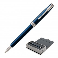 Metal Pen Ballpoint Parker Sonnet - Lacquer Blue CT