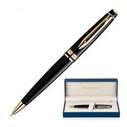 Metal Pen Ballpoint Waterman Expert - Lacquer Black GT