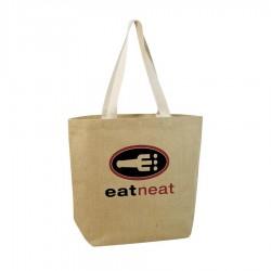 Jute Shopper Bag