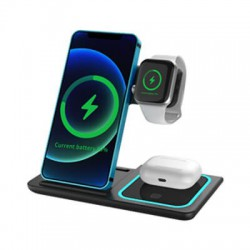 Camden Foldable 3n1 Fast Wireless Charge Stand