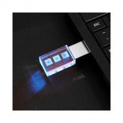 3D Crystal Flash Drive 1GB - 32GB (USB2.0)