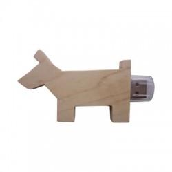Wooden Dog Drive 1GB - 32GB