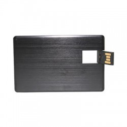 Alu Black Credit Card Drive 1GB - 32GB
