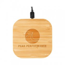 Nelson Wireless Bamboo Fast Charger