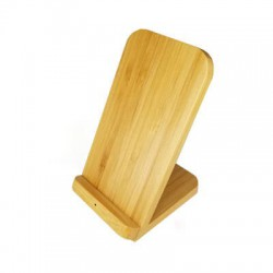 Stirling Fast Wireless Charge Bamboo Stand