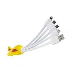 Custom Moulded Charge Cable 4n1