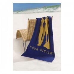 Woven Terry Medium Beach Towel