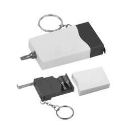 Mini Screwdriver Tape Key Ring