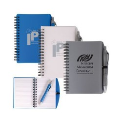 Scribe Spiral Notebook With Pen