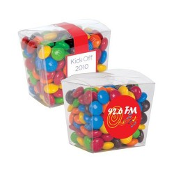 M&M's in Clear Mini Noodle Box