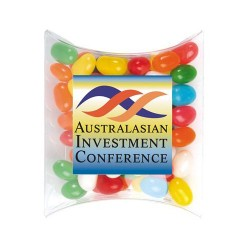 Assorted Colour Mini Jelly Beans in Pillow Packs