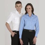 Epaulette Ladies L/S Shirt
