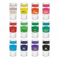 350ml Divino Double Wall Glass Cup