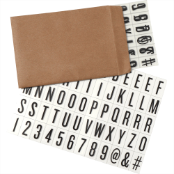 Letters for Cinema Light Box-Small