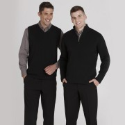 Mens Needle Out 1/2 Zip Pullov