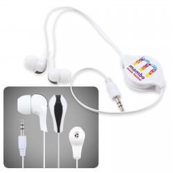 Zen Retractable Earbuds / Headphones