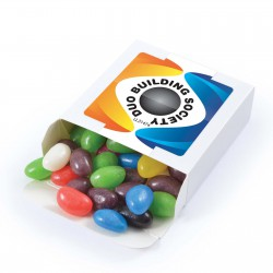 Assorted Colour Jelly Beans in 50g Box
