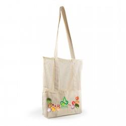 Scoot Calico / Mesh Tote Bag