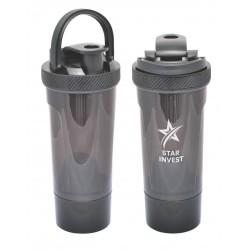 Shaker-Pro Sports Bottle, Black
