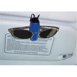 Sunglass Holder, Blue