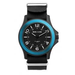 Watch, Unisex with Nylon Strap